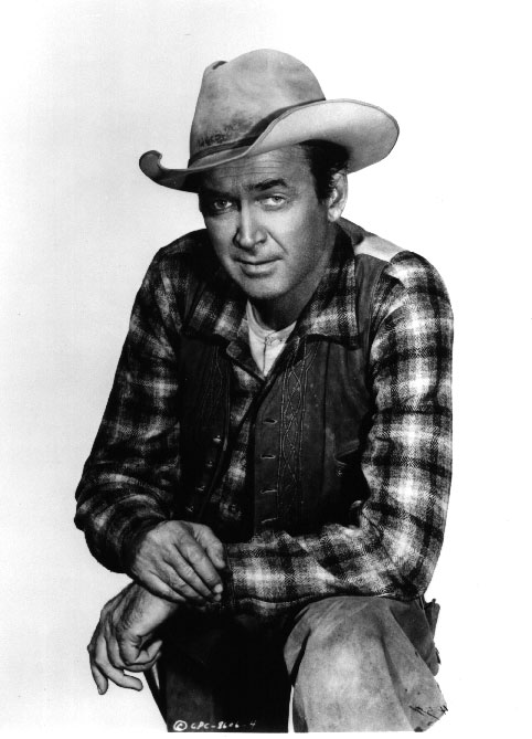 James Stewart as Britt Ponsett, THE SIX SHOOTER - Click for a larger image