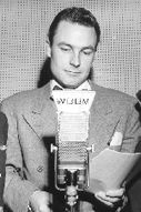 The voice of Sky King on radio, the legendary Earl Nightingale